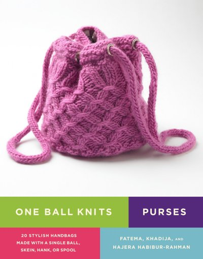 Knit Purses! I have in my hot little hands a c*py of this book: