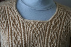 TwistyNeckline030811 240x160 Twisty Aran