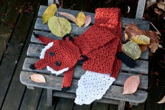 FoxStole110613 240x160 Crochet At Play