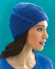 SwirledCablesHat052015 192x240 50 Garter Stitch Gifts to Knit